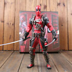"Crazy Toys Marvel Legends Wave X-men Deadpool Wade Wilson 12"" Statue Figure Toys"