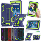 "Kids Safe W/Stand ShockProof Case Cover For Amazon Kindle Fire 7"" 5th Gen 2015"