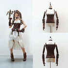 Steampunk Magic Princess Retro Tops Punk Camisole& Hand Cuff& Neck Strap