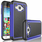 For Samsung Galaxy J7 2015 Shockproof Hybrid Rubber PC Defender Hard Case Cover
