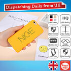 Hard Slim Letter Smiley Face Back Case Cover For Apple iPhone 6 6 Plus 7 7 Plus