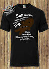 STARWARS T SHIRT Soft Wookie warm wookie little ball of fur, The big bang theory £9.99 GBP