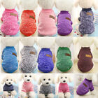 Hot Pet Coat Dog Jacket Winter Clothes Puppy Cat Sweater Clothing Coat Apparel