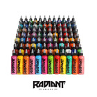 RADIANT TATTOO INK - OFFICIAL DISTRIBUTOR - ALL COLOURS - COLORS - 1oz, 1/2oz
