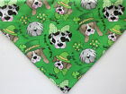 St. Patrick's Day Green Shamrock Dog over the collar Bandana - dogs