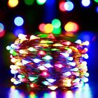 Outdoor LED Fairy Copper String Garden Party Christmas Decoration Starry Light