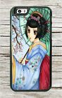 MANGA GEISHA #1 JAPANESE ART CASE FOR iPHONE 6 or 6 PLUS -tfd2X