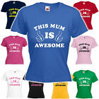 This Mum is Awesome - Mother's Day Mum's Birthday Christmas Gift T-Shirt