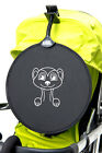 My Buggy Buddy Sun Shade Universal clip on Parasol. Car & Buggy Meerkat design