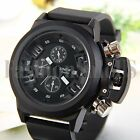 Men's Fashion Luxury Watch Round Dial Quartz Outdoor Sport Mens Wristwatches New