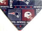 New England Patriots NFL Football Dog Bandana, over the collar Dog scarf, blue