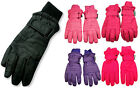 Winter Warm Up Boys Girls Unisex Fits Ages 7 14 Thinsulate Waterproof Gloves