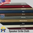 "All Colors Stereo Speaker Grill Cloth Fabric 36"" x 66"" 16.5 Square Feet 3D US"