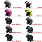 CLEARANCE Leopard Open Face Full Face Flip UP DVS Motorbike Motorcycle Helmet New with tags