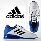 New 2017 Adidas Adults Men's LEISTUNG.16 White Blue Black Weightlifting Boots