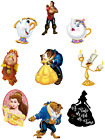 BEAUTY AND THE BEAST BELLE CHARACTERS DISNEY IRON ON HEAT TRANSFER TSHIRT LOT BC