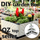 DIY PP garden bed grow tray auto water irrigation low maintenance any shape