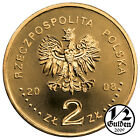 POLAND FULL YEAR SET OF 16 COINS 2 ZLOTY 2008 NORDIC GOLD UNCIRCULATED NUMISHOP