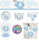 Baby Shower Blue Umbrellaphants Party Supplies Decoration Plates Napkins Cups