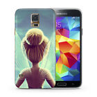 Tinkerbell Princess Fairy Case Cover for Samsung Galaxy S5 S6 S7 S8 Edge + J A
