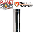 Stainless Steel Shieldmaster 350-500mm Adjustable For Twin Wall Flue Pipe