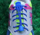 Elastic Shoelaces Lock Laces Triathlon Running Jogging Trainers Elasticated Lace