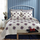 3-pc LINCOLN Quilt Set * Americana Star * TWIN QUEEN CAL KING * PRICE MATCH *