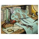 Steampunk Raygun Sci Fi Jigsaw Puzzle D&D AD&D Style Color Art By Eric Hammond