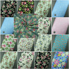 NEW 100% Cotton FabicFloral, Flowers,Roses Print Crafting Dressmaking Material