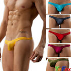 Mens Addult G-Strings Briefs Tanga Underwear Bulge Pouch Bikini Underpants 1pcs