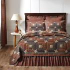 5-pc PARKER Quilt Set * Primitive Star * TWIN QUEEN CAL KING * PRICE MATCH *