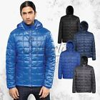 2786 Men's Box Quilted Hooded Jacket (TS025) - Lightweight - Semi-Fitted - Warm