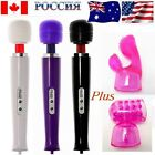 Hitachi Motor Magic Sexual Massage Wand & 2x Man Woman Spike Dots Pod Attachment