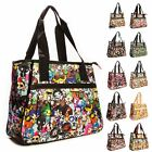Big Handbag Shop Unisex Zip Pockets Cartoon Lightweight Tote Shoulder Bag