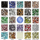 Rhinestone Gems 2mm 3mm 4mm 5mm 6mm Resin Crystal Nail Art Flat Back 250 - 1000