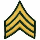 US Army Enlisted Rank Patch - Embroidered Insignia Patches Choice of RankPatches - 177895