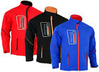 Kyпить Mens Softshell Pro Workwear Jacket Long Sleeves 4 Zip Pockets на еВаy.соm