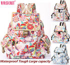 Vintage Women's Waterproof Travel Rucksack School Bag Satchel Bookbags Backpack