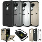 Shockproof Heavy Duty Full Body Hybrid Hard Stand Case Cover For Various Phones