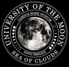 University of the Moon Sea of Clouds Latin Neil Armstrong Apollo 11 T-Shirt