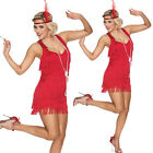 Womens Flapper Dress Red