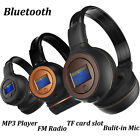 Stereo Bluetooth 3.0 Wireless Headset/Headphones With Call Mic/Microphone Black