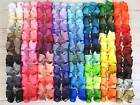 "6"" 15cm Extra Large Big Grosgrain Ribbon HAIR Bows Clips Bow UK 70+ Colours"
