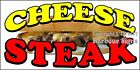 (CHOOSE YOUR SIZE) Cheese Steak Subs DECAL Concession Food Truck Vinyl Sticker