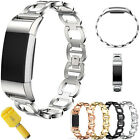 Fashion Stainless Steel Vintage Bracelet Watch Band Strap For Fitbit Charge 2