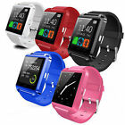 U8s Bluetooth Smart Wrist Watch Phone Mate For IOS iPhone Samsung Android Huawei