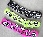 Girls PEACE SIGN Soccer Softball Volleyball SOCKS 4 Cleats Shoes 4-5-6-7-8-9