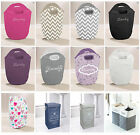 Laundry Diamante Hamper Style Washing Bag Dirty Wash Basket Clothes Storage New
