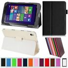 """PU Durable Leather Stand Phone Case Cover For Acer ICONIA W4-820 8"""" Tablet"""