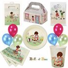 BELLE & BOO TABLEWARE CUPS PLATES NAPKINS TCOVER BAGS BALLOONS TREAT BOXES